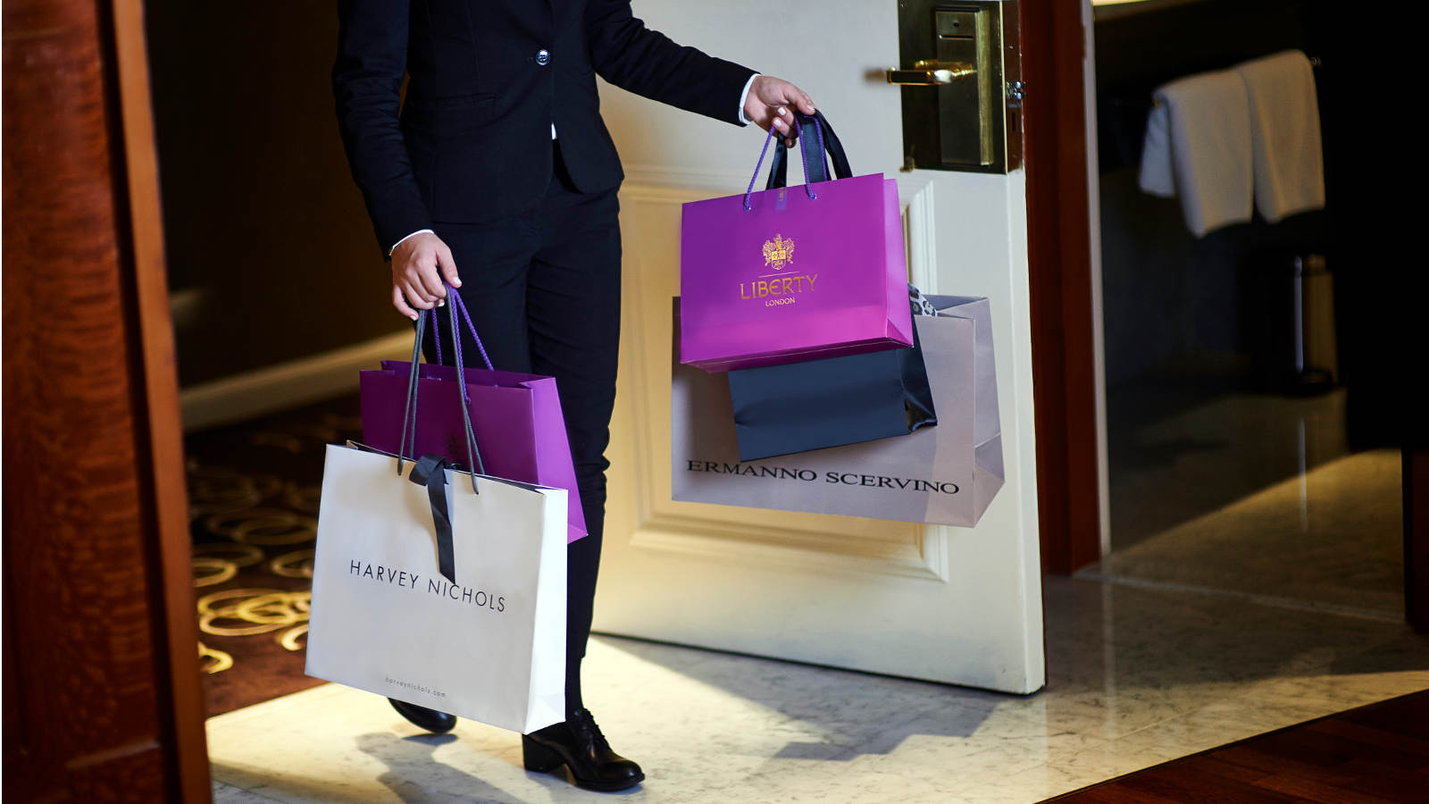 Staying at the Park Tower Knightsbridge Hotel is perfect for a day's shopping