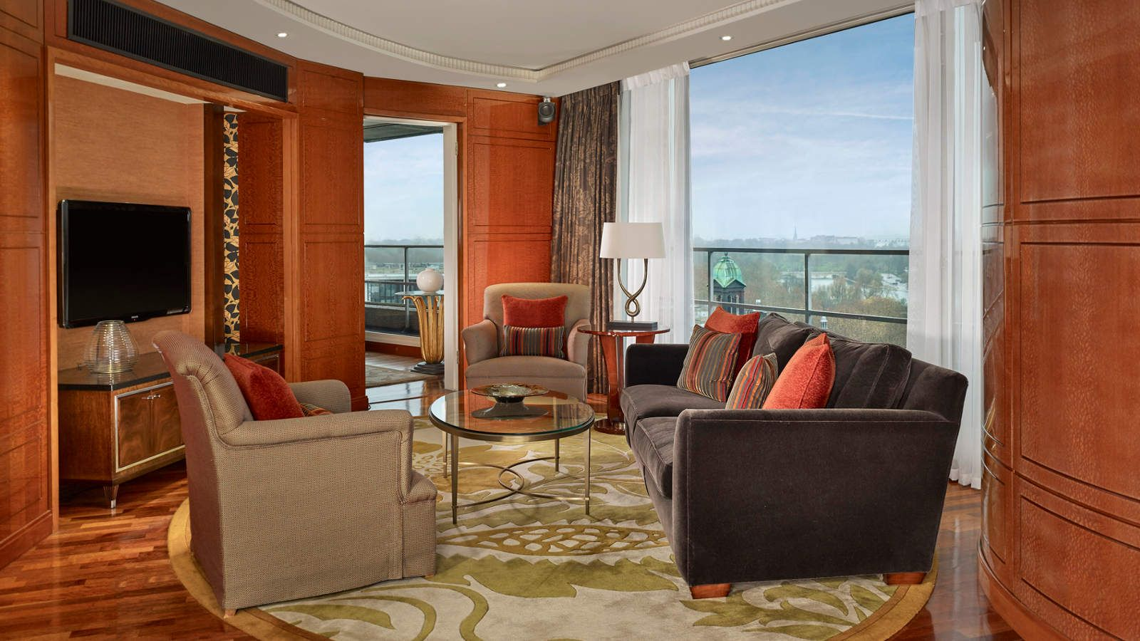Penthouse Suite overlooking Hyde Park