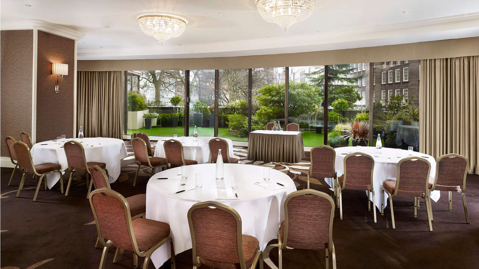 Events room in Knightsbridge