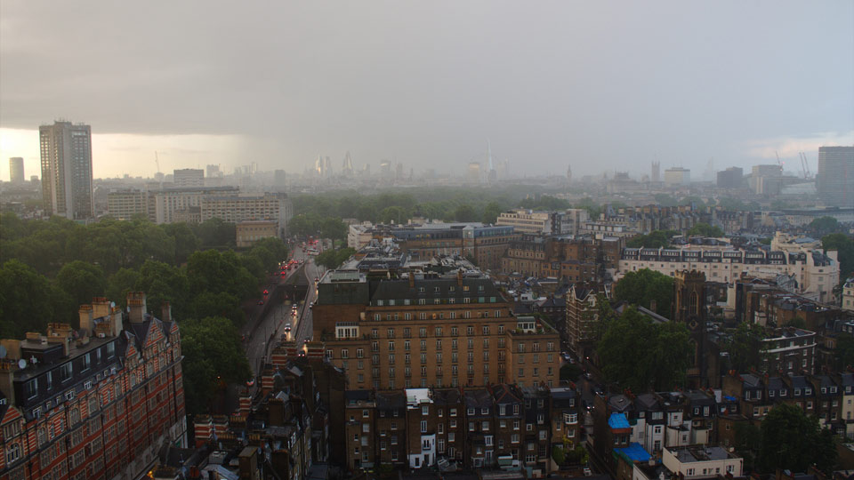 Distinctly London: irrespective of the weather.