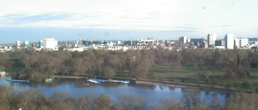 A favourite view from Sheraton Park Tower, London